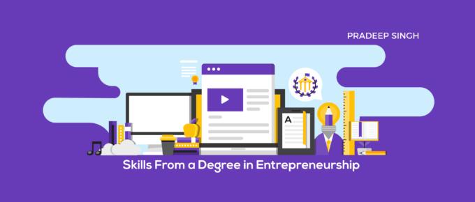 Entrepreneurship Degree Learning Skills