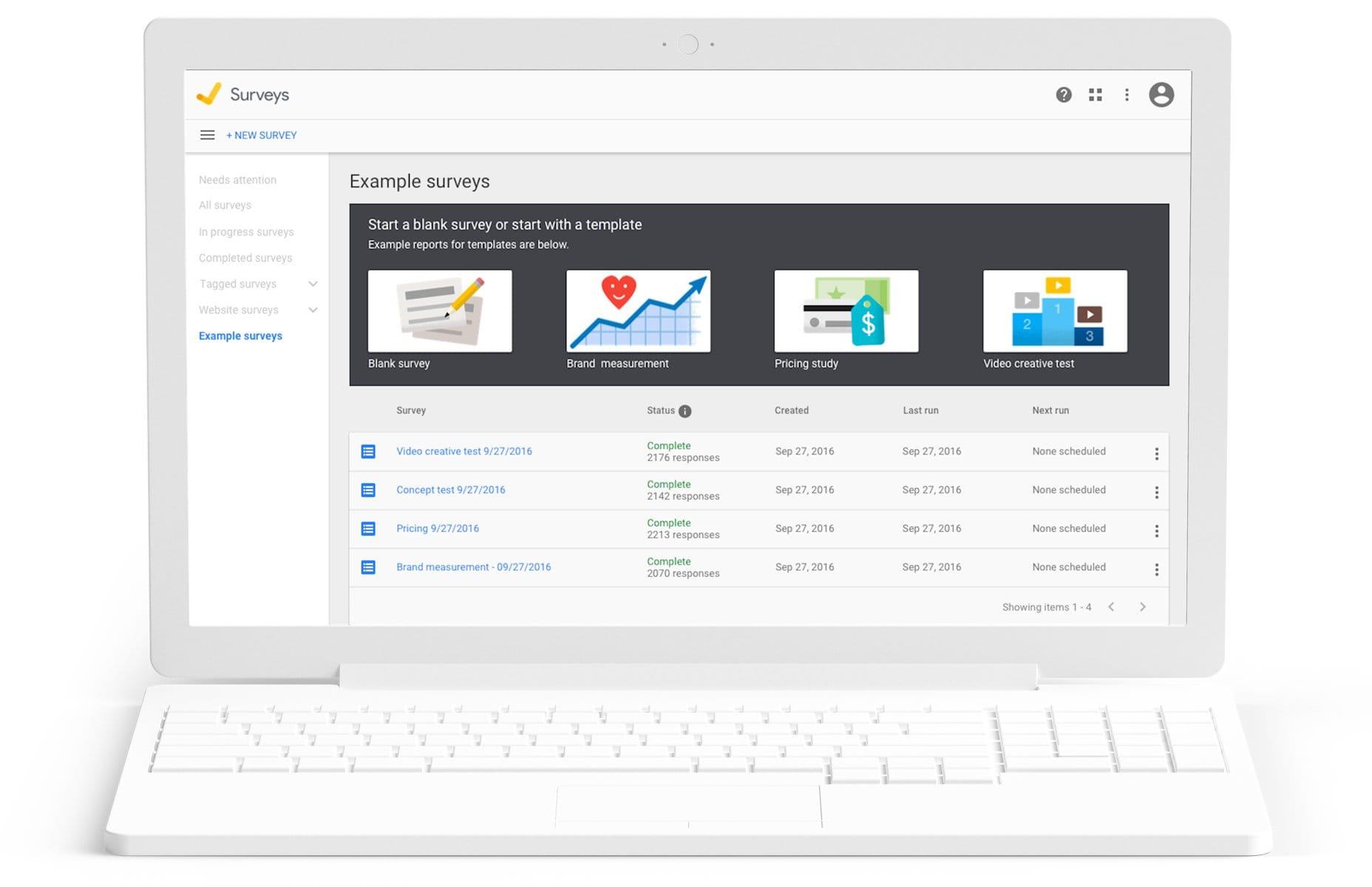 Google Surveys Google Marketing Platform