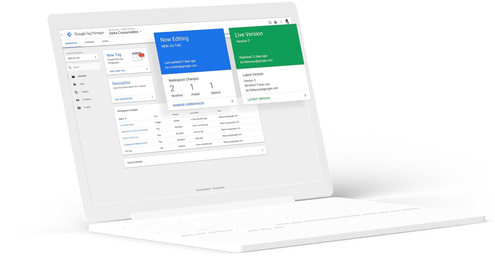 Google Tag Manager Google Marketing Platform