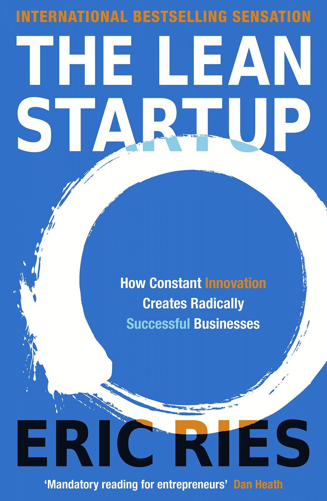 The Lean Startup Book Cover Entrepreneurship